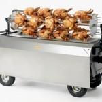 Platinum machine with chicken spit